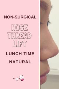 nose thread, nose job, nose fillers