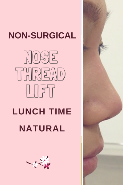 nose thread, nose job, nose fillers